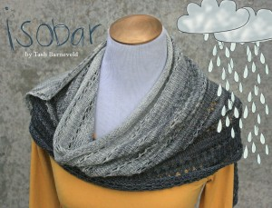 Isobar shawl knitting pattern